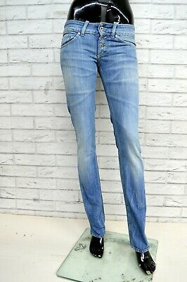 Jeans DONDUP KODY Donna Taglia Size 26 Pantalone Pants Trousers Woman Slim FIt