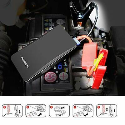 Jump Starter 400A Peak 6000mAh Starter Battery Charger Power Bank Rescue Pack UK