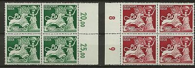 Germany Sc# B206-7 Mnh Stamps Blocks