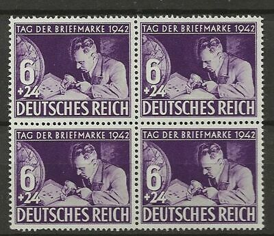 Germany Sc# B201 Mnh Stamps Block
