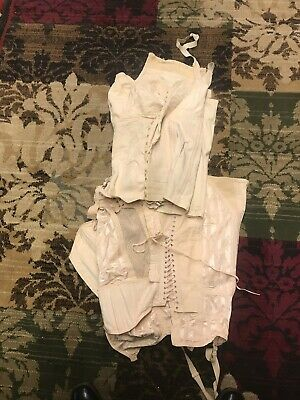 2 Vintage CORSETS  One Lace up