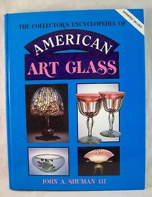 American Art Glass Reference Book by John Shuman, 1988, updated 1991