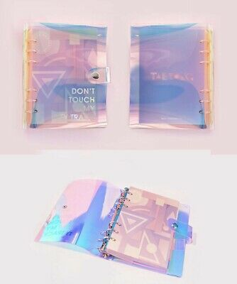 (Sale) Nct Nct127 Taeyong Fanmade Ty Track Hologram Scheduler Planner
