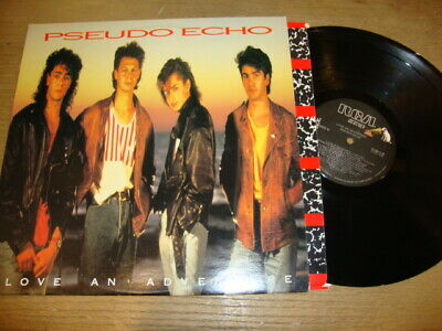 Pseudo Echo - Love An Adventure - LP Record   EX EX