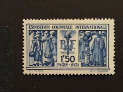 Timbre France Neuf N° 274 ** Cote 110 € Expo Coloniale Paris 1931