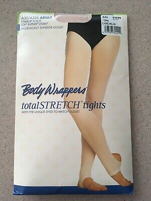 8f939ac4dc09f Body Wrappers Totalstretch Stirrup Tights Size Large X Large Color Ballet  Pink