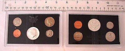 1969 United States Proof Set Kennedy = Silver Original Us Mint Box