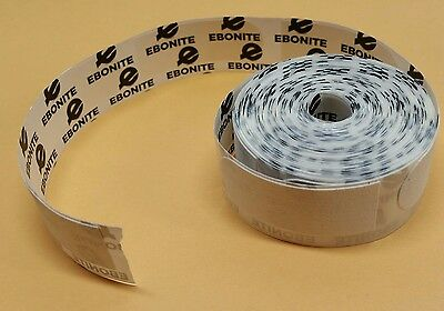 Ebonite 1 inch White Bowling Texture Tape-100 Piece Roll-Brand New-Free Shipping