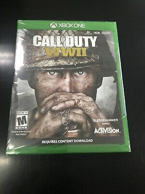 Call of Duty: WWII (Microsoft Xbox One, 2017) Brand New Sealed