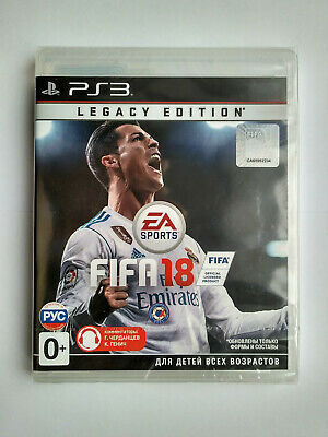 FIFA 18: Legacy Edition Playstation 3 PS3 Brand New Factory Sealed