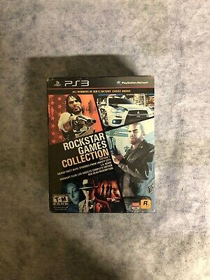 Rockstar Games Collection - Gta - L.a.noire - Red Dead - Midnight - Ps3 - Nuovo