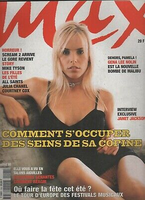Gena Lee Nolin Janet Jackson Asia Argento Courtney Cox David Arquette M Tyson 98