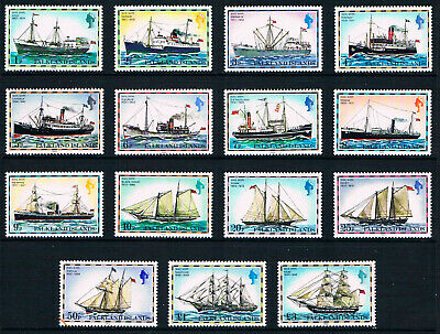 $20.95 Value - FALKLAND ISL. TALL SHIPS  - Stamp Sale MNH NH Combined Shipping