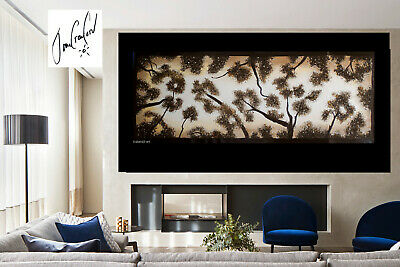 original Huge Art Painting Landscape Trees forest Modern Australia