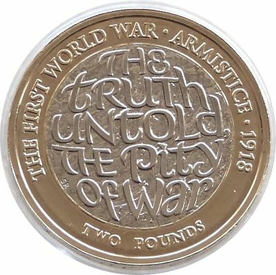 2018 Royal Mint First World War Armistice £2 Two Pound Coin Uncirculated