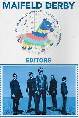 The Editors Live At The Maifeld Derby In Mannheim, Germany On 6/16/18 DVD