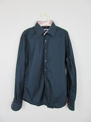 Shirt navy blue Carven for men in very good condition, size XL
