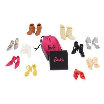 Barbie Doll BFC Shoe Pack Exclusive Platinum Fan Club Members 10 Pairs of Shoes