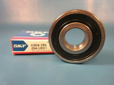 SKF 6304 2RS JEM, 2RSJEM, C3 Single Row Radial Bearing (FAG, Koyo, NSK, Timken)