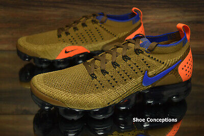 f40bc3071a2 Nike Air Vapormax Flyknit 2 Running Shoes Golden Beige 942842-203 Men s NEW