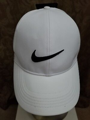 ac010326119 NIKE MENS VAPOR Classic 99 Dri-Fit Training Hat White Black ...