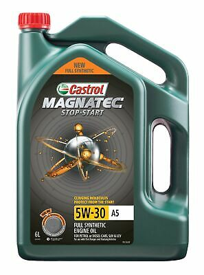 Castrol MAGNATEC 5W30 Stop-Start A5 Engine Oil 6L 3414419 fits Mazda BT-50 3....