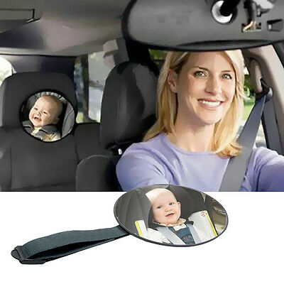 Car Safety Easy View Back Seat Mirror Baby Facing Rear Ward Kids Monitor