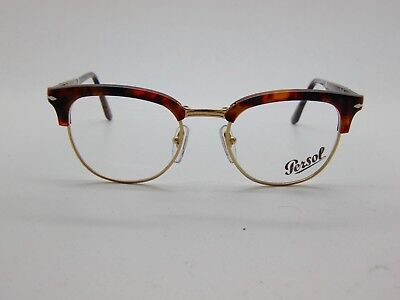 9c9a6c8edf5 PERSOL Folding Eyeglasses 3132-V 108 Cellor Series Caffe Tortoise 49mm Rx
