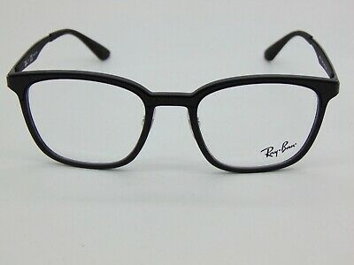 5ae41978ec NEW Authentic Ray Ban RB 7117 5196 Matte Black 50mm RX Eyeglasses
