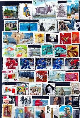 Canada Used Commemorative Stamps ---   Page # 492