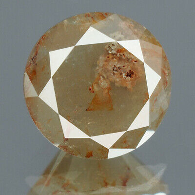 1.65 cts. CERTIFIED Round Brilliant Brown Gray Color Loose Natural Diamond 14129