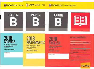 ICAS Year 4 (Paper B) Past Papers - All Subjects