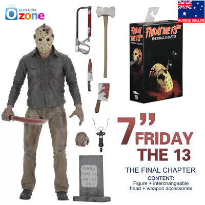"""NECA Friday The 13th Part 4 The Final Chapter Jason Voorhees 7"""" Action Figure"""