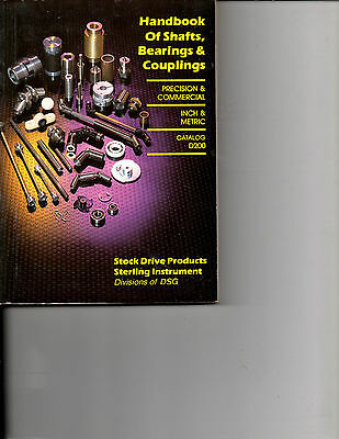 1994 Handbook Of Shaft-Bearing-Couplings-D200-3-Precision-Commercial Inch-Metric