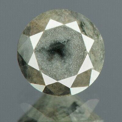 0.48 cts. CERTIFIED Round Brilliant Dark Gray Color Loose Natural Diamond 14250
