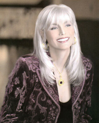 """EMMYLOU HARRIS COUNTRY WESTERN SINGER 8x10"""" HAND COLOR TINTED PHOTOGRAPH"""