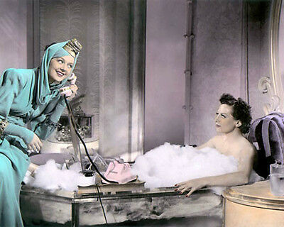 """Rosalind Russell Joan Crawford The Women 1939 8X10"""" Hand Color Tinted Photo"""