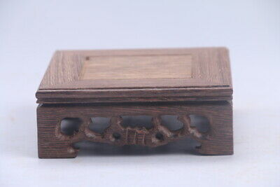 100% natural Exquisite Chinese hand carving Chicken wing wood base ac13