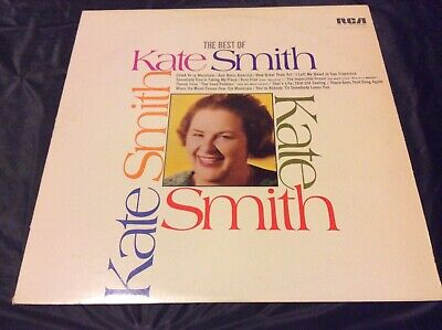 The Best Of Kate Smith -Vinyl Vg+ - Rca Anl1-1135 Stereo - 1968