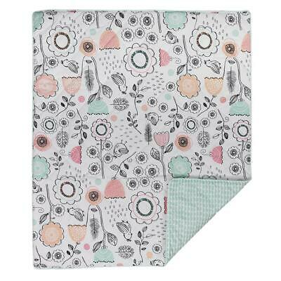 Lolli Living Cot Comforter (Mint Scallops) Free Shipping!