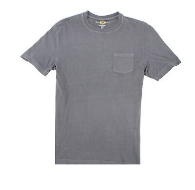 Club Room NEW Gray Mens Size Small S Crewneck Chest-Pocket Tee T-Shirt- 120