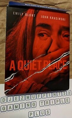 A Quiet Place Steelbook (Blu-Ray Only) Watched Once, Opened (Damage)