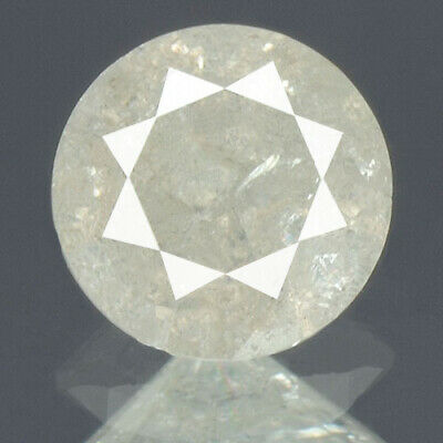 0.47 cts. CERTIFIED Round Brilliant Cut Gray Color Loose Natural Diamond 13248