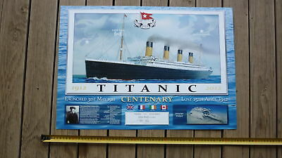 2012 LARGE LIMITIED EDITON TITANIC 100th ANNIV PRINT, SHIPPING WHITE STAR LINE