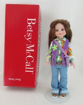 MIB Tonner Rare Betsy McCall Brown Hair-Hippie Outfit
