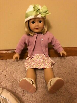 American Girl Kit Kittredge Doll with a lot of outfits