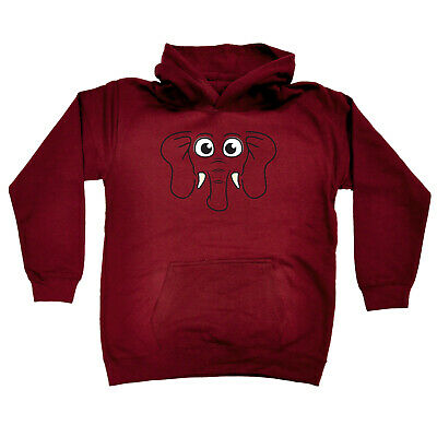 Funny Kids Childrens Hoodie Hoody - Am Elephant