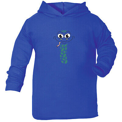 Funny Baby Infants Cotton Hoodie Hoody - Am Snake