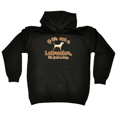 Funny Kids Childrens Hoodie Hoody - If Its Not A Labrador Its Just A Dog