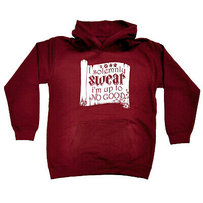 Funny Kids Childrens Hoodie Hoody - I Solemnly Swear Im Up To No Good